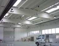 Realizzazione impianti elettrici in edificio industriale